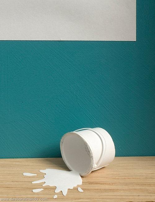 obras de arte em papel 3D origami Peter Callesen desbaratinando (41)