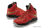 lbj10 fake colorway red black gold 1 03 Fake LeBron X