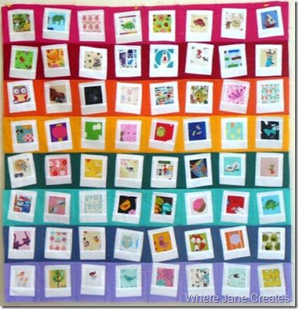 Where Jane Creates Rainbow Polaroids