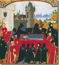 Funéraillles de Charles VI