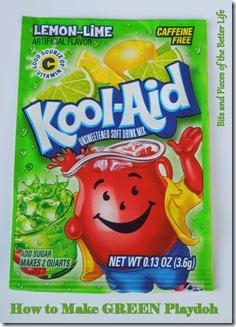 Playdoh Kool-Aid