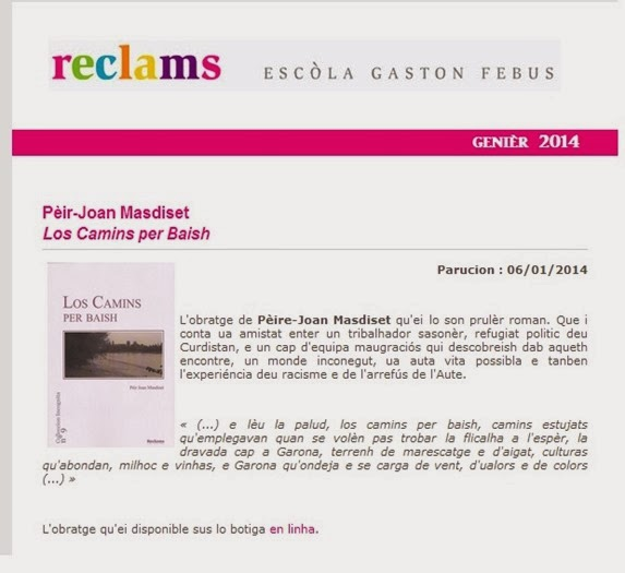 publicitat Gaston Fèbus Libre