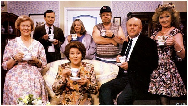 "The cast of ""KEEPING UP APPEARANCES"""
