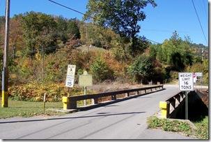 Killing Of Asa Harmon McCoy marker KY Highway 1056 in background