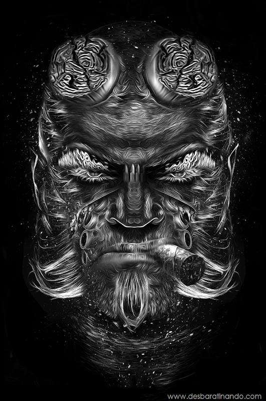 Nicolas-Obery-Fantasmagorik-Hellboy-desbaratinando