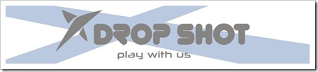 drop shot logo 2012 padel