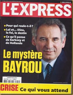 Portada L'Express Bayrou