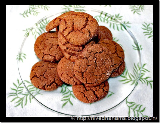 Nutrituous Gingersnaps - IMG_2227 - Copy