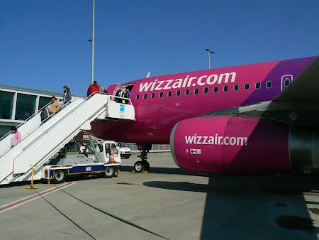 WizzAir la Bruxelles