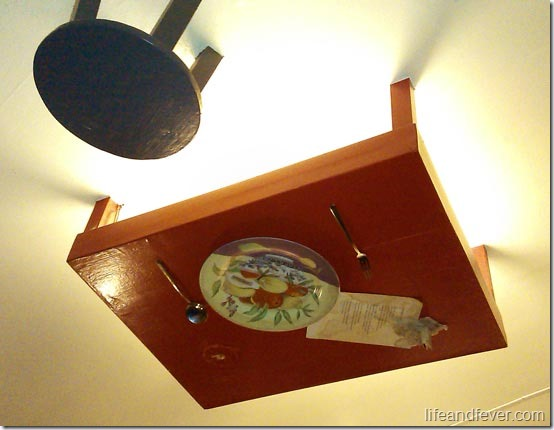 quirky ceiling installment