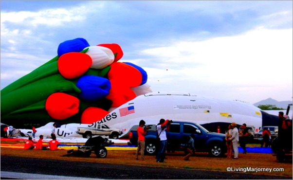 Balloon Shaped NASA Space Shuttle from Axe Philippines at 18th Hot Air Balloon Fiesta