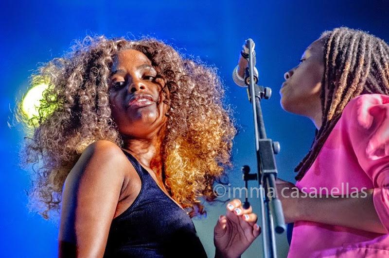 Tonysha Nelson i Lashonda Clinton, Parliament-Funkadelic, Donostia-San Sebastián 2014