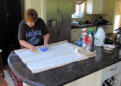 1307146 July 28 Barb Scrubbing Roman Shade Lining