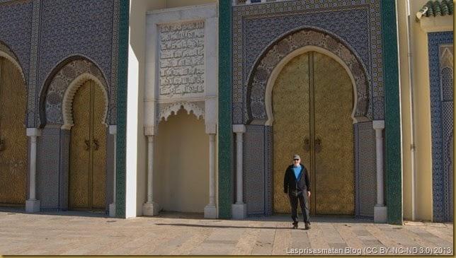 Puerta principal del Palacio Real
