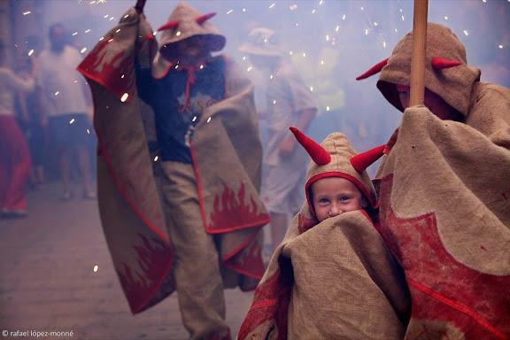 Els Diables petits,Festa Major dels Petits, festes de Sant Fèlix,Vilafranca del Penedès, Alt Penedès, Barcelona
