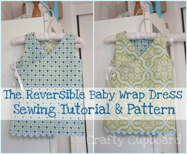 Reversible Baby Wrap Dress Pattern
