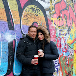 at the Eastside Gallery in Berlin, Berlin, Germany