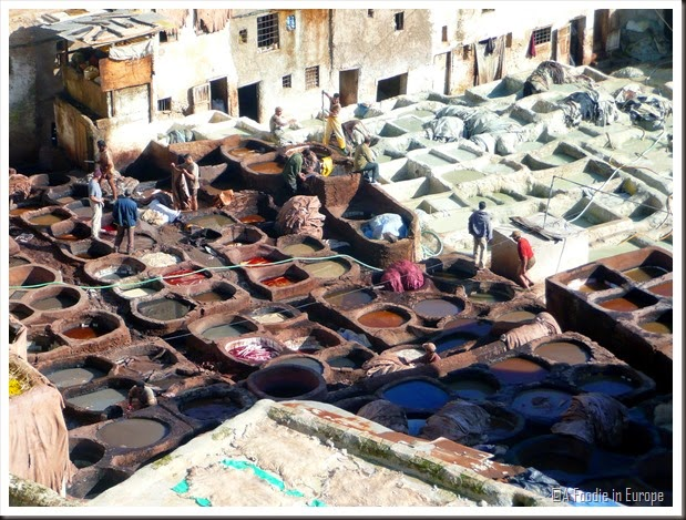 Morocco Leather Tannery