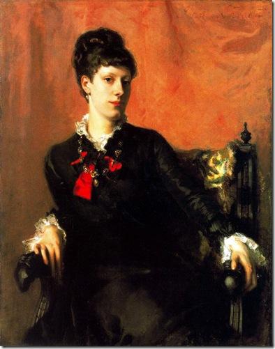 John-Singer-Sargent - Miss Frances Sherborne Ridley Watts