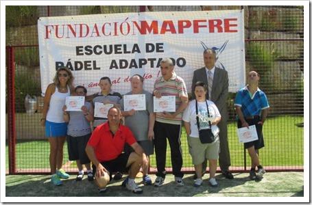 Fundación Mapfre y Fundación Deporte y Desafío clausuran los Cursos de Pádel Adaptado.