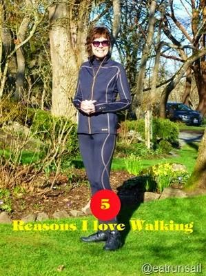5 Reasons I Love Walking