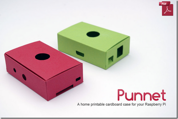 The Punnet - a card case for you to print (for free)