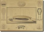 Projet de concours pour le tombeau de l'empereur Napoléon Ier dans l'église des Invalides à Paris, 1841, © RMN-GP (Musée d'Orsay)/Hervé Lewandowski