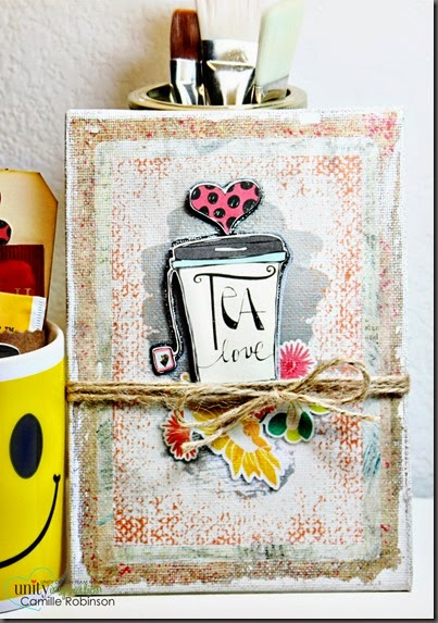 tea love canvas