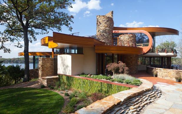 chenequa residence by robert harvey oshatz architect 4