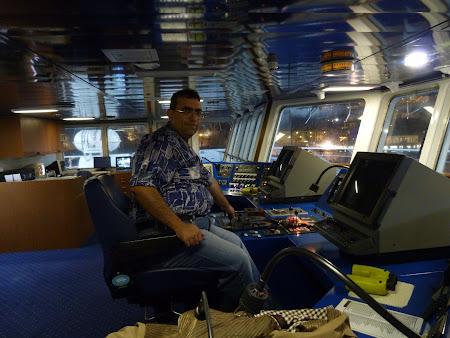 Ferry Madeira - Porto Santo: comanda vasului
