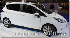 2012 Autosalon Geneve - Ford B-Max