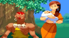Street Fighter Alpha 2, Finais, Dhalsim