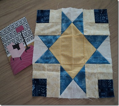 Lorna's Block for me Jan 2013