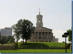 9497 Nashville, Tennessee - Discover Nashville Tour - downtown Nashville - the State Capitol Building