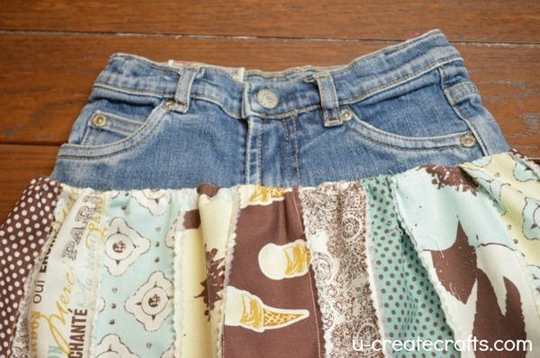 Rolie Polie Raggedy Skirt Tutorial 9