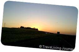 I-5 at dawn
