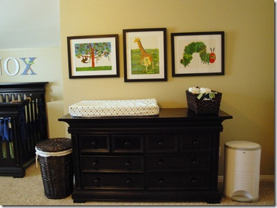 3.  Changing table and dresser