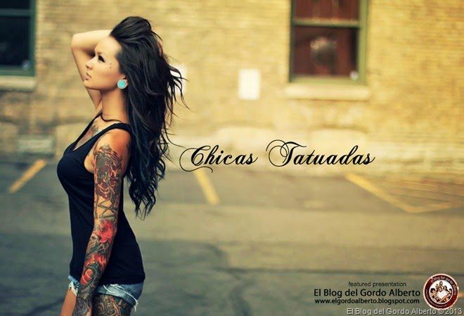 chicas tatuadas