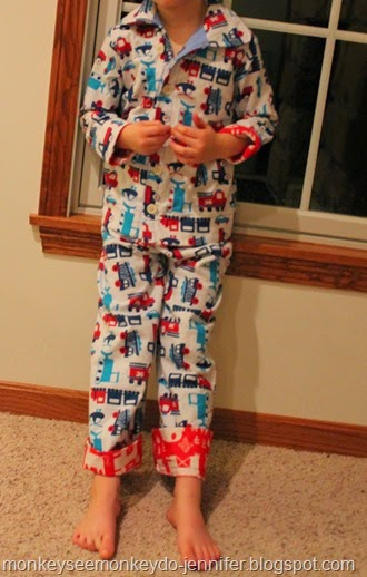 fire truck vehicle pjs