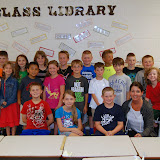 WBFJ Cici's Pizza Pledge - Northwest Elementary - Mr. Allen's 3rd Grade Class - Lexington - 5-21-14