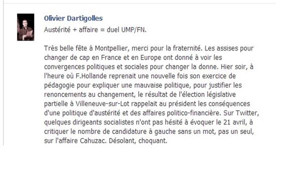 reaccion del PCF d'Aquitània