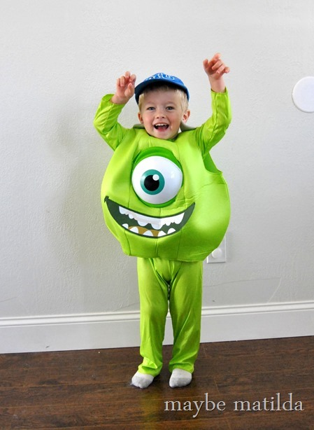 Cute little Mike Wazowski Costume