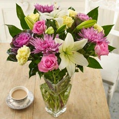 Sendabunch - Guernsey Flowers - Shades of Summer Bouquet with Free Delivery
