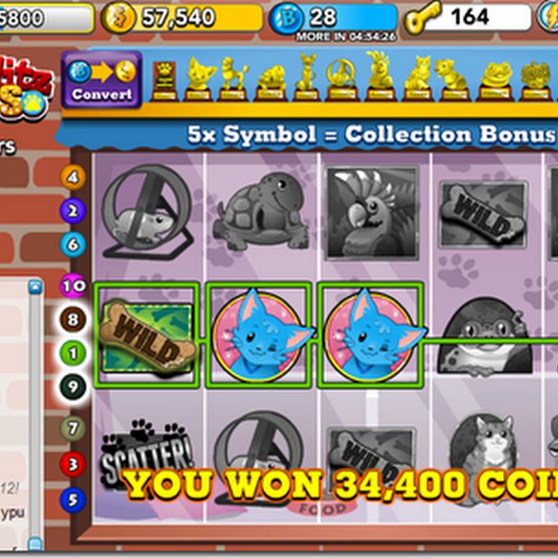 Truque para ganhar no PET SLOTS do Bingo Blitz