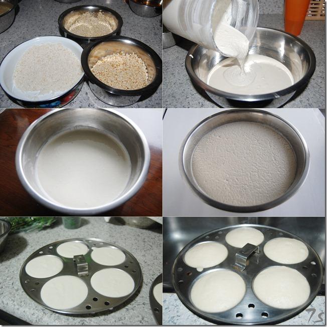 Quinoa idly process