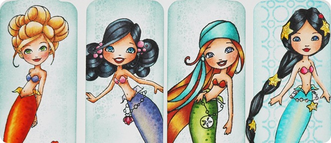 Bookmarks Mermaids unlami copy