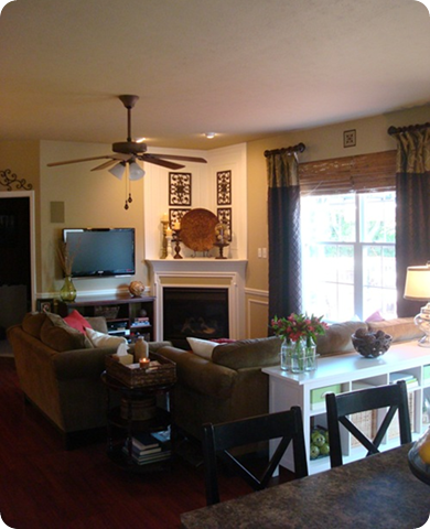 The Family Room Redone From Thrifty Decor Chick
