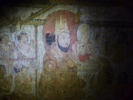 Obiective turistice Myanmar: Picturi murale Bagan