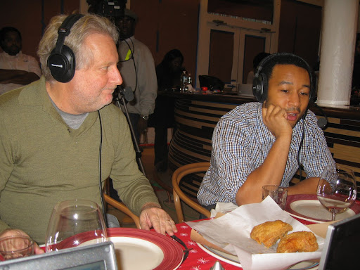John talks with Marcus, Jonathan and Mimi about his approach to his chicken and cooking.