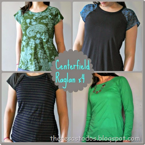 Theresa's To-Dos, Selfish Sewing Centerfield Raglan